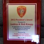 Custom Fire Department Plaques