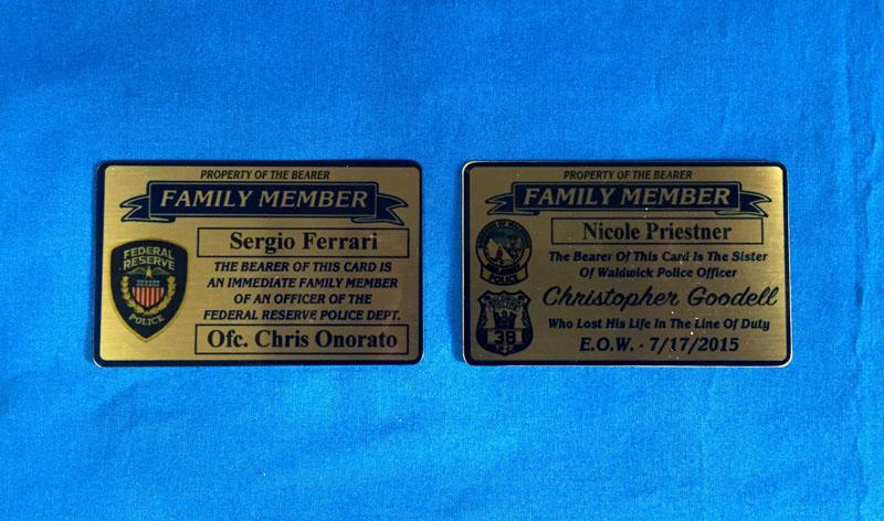 Gold Member Cards