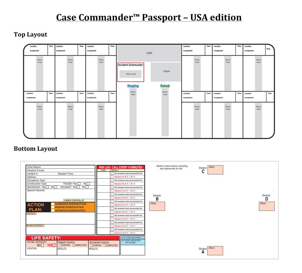 Case Commander™ Incident Command System – Passport Edition